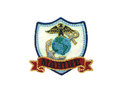 "Applikation ""MARINE Wappen"""