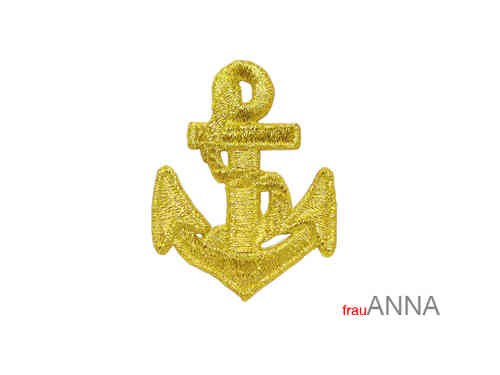 "Applikation ""Anker"" gold"